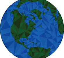 Geometric Earth by robbisco