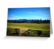 Far into the distance Greeting Card