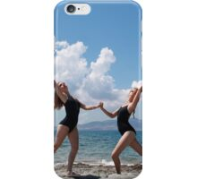 Naxos beach iPhone Case/Skin