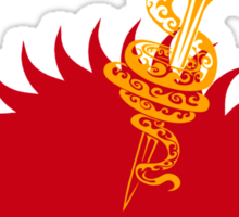 The Sand Snakes and the Red Viper, House Martell Sticker