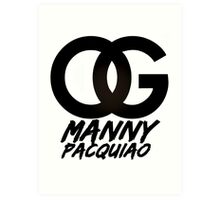 OG Manny Pacquiao (Limited Edition) Art Print