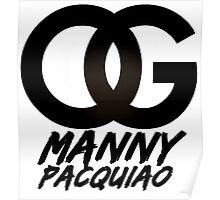 OG Manny Pacquiao (Limited Edition) Poster
