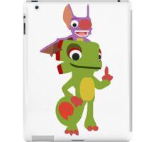 Yooka-Laylee Vector (no outlines) iPad Case/Skin