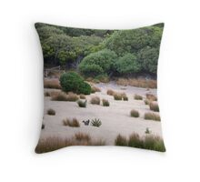 Wallaby habitat Throw Pillow