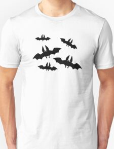 Black horror bats T-Shirt