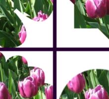 Just For Fun - Keukenhof Tulips Collage Sticker