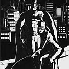 Batman and Catwoman by Jimmy Tannahill