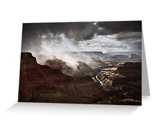 Heart of the Canyon Greeting Card
