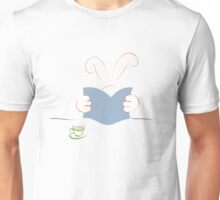 reading Rabbit Unisex T-Shirt