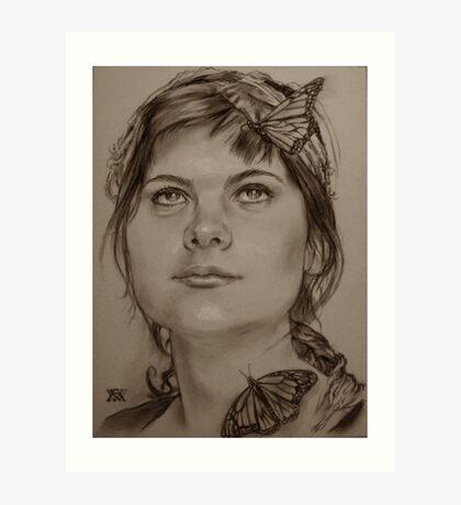 """""""Le Papillon"""" Art Print"""