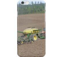 Planting on the farm iPhone Case/Skin