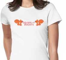Squirrel-y Brackets Womens Fitted T-Shirt