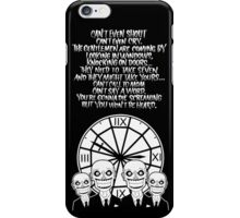 Buffy the Vampire Slayer - HUSH II iPhone Case/Skin
