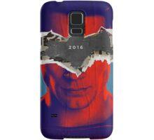 Superman vs Batman Poster Samsung Galaxy Case/Skin