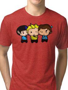 Ahead Warp Factor 1  Tri-blend T-Shirt