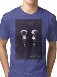 Betty Boop vintage patent from 1932. Tri-blend T-Shirt
