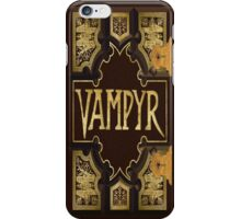 Vampyr Book - Buffy the Vampire Slayer iPhone Case/Skin