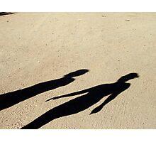 Shadow People Photographic Print