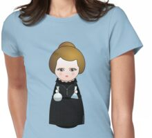 Kokeshi Madame Curie Womens Fitted T-Shirt
