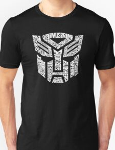Transformer Autobots White T-Shirt