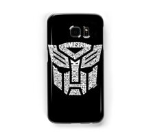 Transformer Autobots White Samsung Galaxy Case/Skin