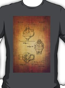 Santa Claus vintage toy patent from 1948 T-Shirt