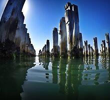 Princes Pier, Melbourne by Georgina Gibson