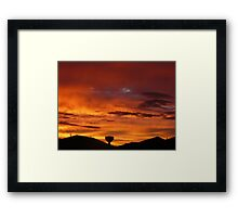 Tarneit Sunrise Framed Print