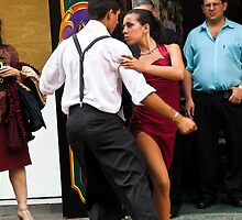 Tango in Beunos Airies, Argentina by Mike Gregory