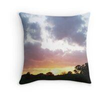 sunset at hadleigh 2 Throw Pillow