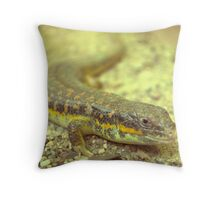 Little dragon 7 Throw Pillow