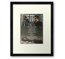 Doctor Who - Eleven Framed Print