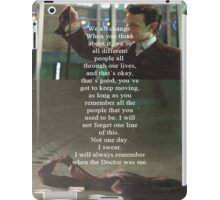 Doctor Who - Eleven iPad Case/Skin
