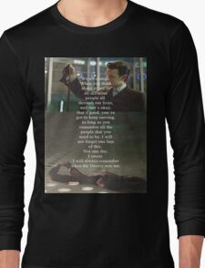 Doctor Who - Eleven Long Sleeve T-Shirt