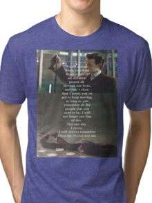 Doctor Who - Eleven Tri-blend T-Shirt