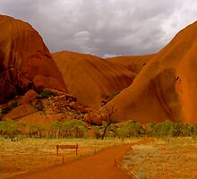 Uluru III by Louise Fahy