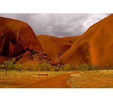 Uluru III Photographic Print
