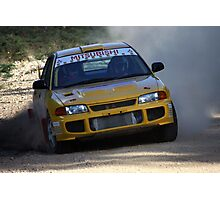 Rally of Lithgow - EVO 3 Photographic Print