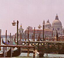 Venetian Gondolas by Alison Badgery