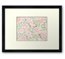 Spring Spray Rose  Framed Print