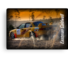 Rally of Lithgow 2009 - Eastman Caldwell Canvas Print