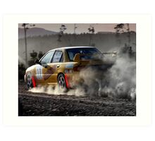 Car 17 - Eastman Caldwell Art Print