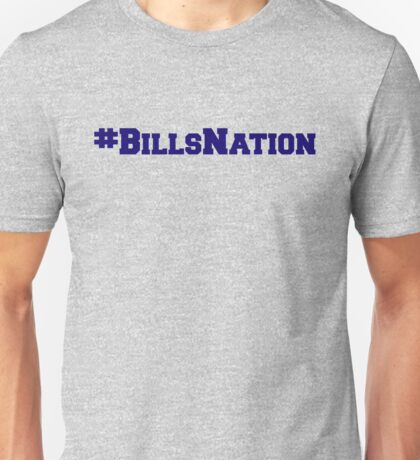 #BillsNation Unisex T-Shirt