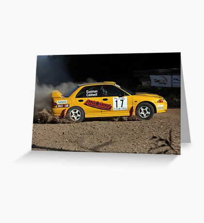 Bindo SS 2 - Rally of Lithgow Greeting Card