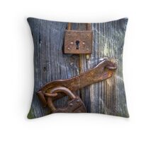 Old Locks Throw Pillow