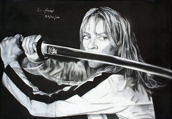 Kill Bill - Beatrix Kiddo by Lee Fone