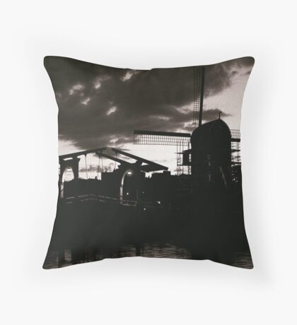 Leiden At Dusk VII Throw Pillow