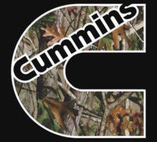Camouflage Cummins Logo  by nick9219