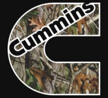Camouflage Cummins Logo  by NP's Tees .