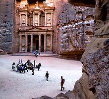 Petra by Valerii Baryspolets